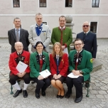 Urkundenverleihung_Kapellmeister Bezirk Gänserndorf